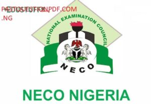 NECO Accounting Past Questions and Answers